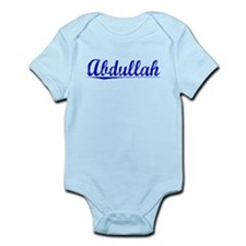 Abdullah, Blue, Aged Infant Bodysuit