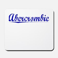 Abercrombie, Blue, Aged Mousepad