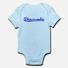 Abercrombie, Blue, Aged Infant Bodysuit