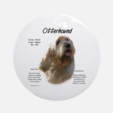 Otterhound Round Ornament