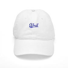 Abril, Blue, Aged Baseball Cap