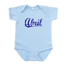 Abril, Blue, Aged Infant Bodysuit