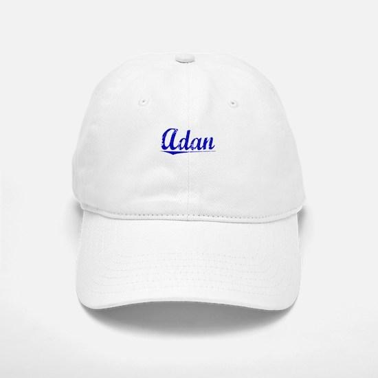 Adan, Blue, Aged Baseball Baseball Cap