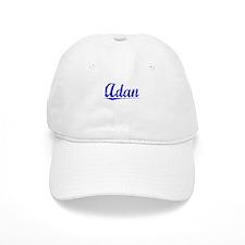 Adan, Blue, Aged Baseball Cap