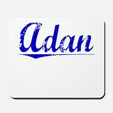Adan, Blue, Aged Mousepad