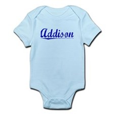 Addison, Blue, Aged Infant Bodysuit