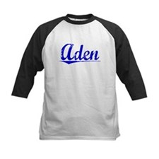 Aden, Blue, Aged Tee
