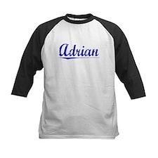 Adrian, Blue, Aged Tee