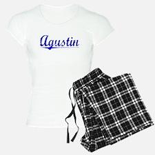 Agustin, Blue, Aged Pajamas