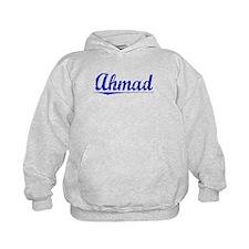 Ahmad, Blue, Aged Hoodie