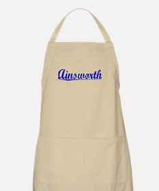 Ainsworth, Blue, Aged Apron