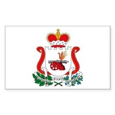 Smolensk Coat of Arms Rectangle Decal