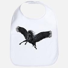 Black Pegasus Bib