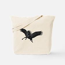 Black Pegasus Tote Bag