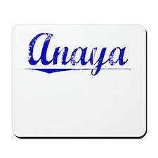 Anaya, Blue, Aged Mousepad