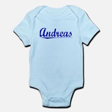 Andreas, Blue, Aged Infant Bodysuit