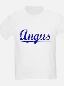 Angus, Blue, Aged T-Shirt