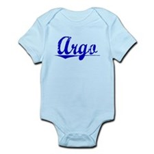 Argo, Blue, Aged Infant Bodysuit