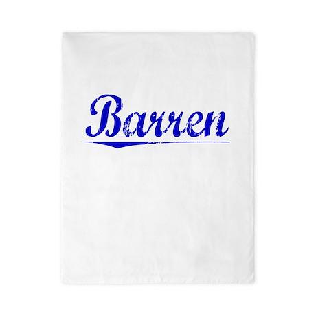 Barren, Blue, Aged Twin Duvet