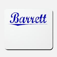 Barrett, Blue, Aged Mousepad