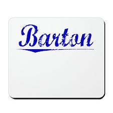 Barton, Blue, Aged Mousepad