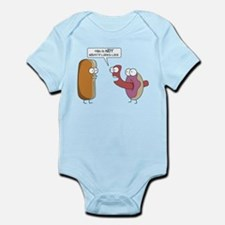 This is not what it looks like Infant Bodysuit