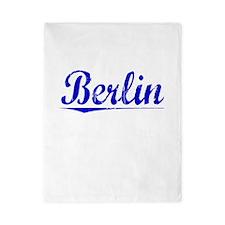 Berlin, Blue, Aged Twin Duvet