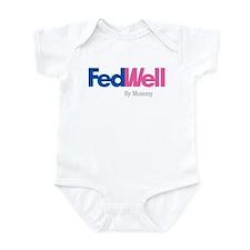 """Infant Creeper - """"Fed Well"""""""