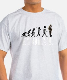 Tuba Sousaphone Evolution T-Shirt