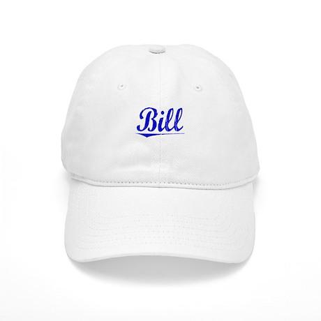 Bill, Blue, Aged Cap