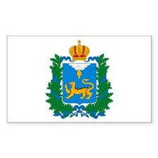 Pskov Coat of Arms Rectangle Decal