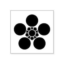 "toyama ume-bachi Square Sticker 3"" x 3"""