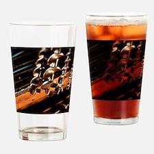 Unique Drill bits Drinking Glass