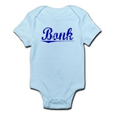Bonk, Blue, Aged Infant Bodysuit