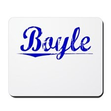Boyle, Blue, Aged Mousepad