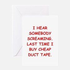 DUCT.png Greeting Card