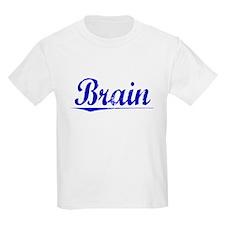 Brain, Blue, Aged T-Shirt
