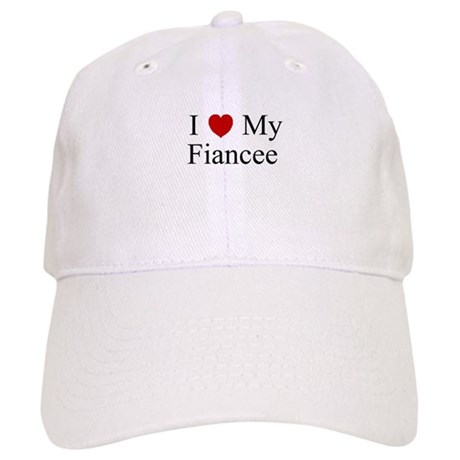 I (heart) My Fiancee Cap
