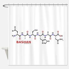 Bashan molecularshirts.com Shower Curtain