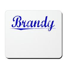 Brandy, Blue, Aged Mousepad