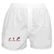 Male Female Engineer Boxer Shorts