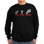 Male Female Engineer Sweatshirt (dark)