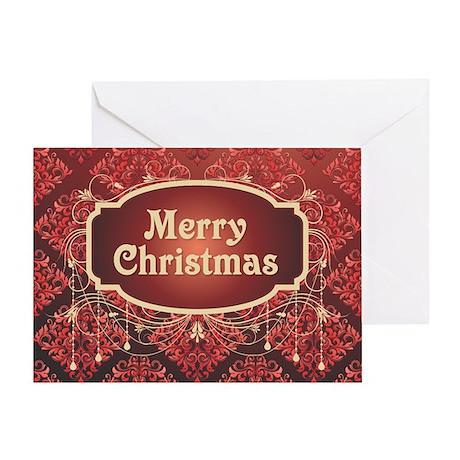 Vintage Victorian Christmas Greeting Card
