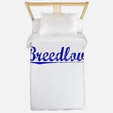 Breedlove, Blue, Aged Twin Duvet