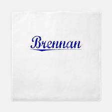 Brennan, Blue, Aged Queen Duvet