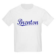 Brenton, Blue, Aged T-Shirt