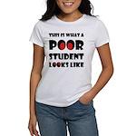 Poor student Women's T-Shirt