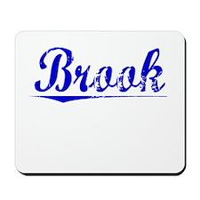 Brook, Blue, Aged Mousepad