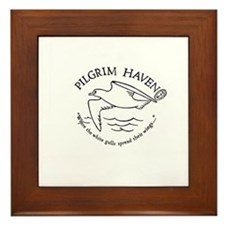 We remember Pilgrim Haven Framed Tile