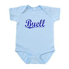 Buell, Blue, Aged Infant Bodysuit